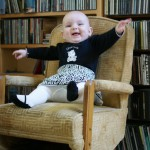 joyful times in our tiny chair!