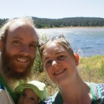 The family at Spooner Lake